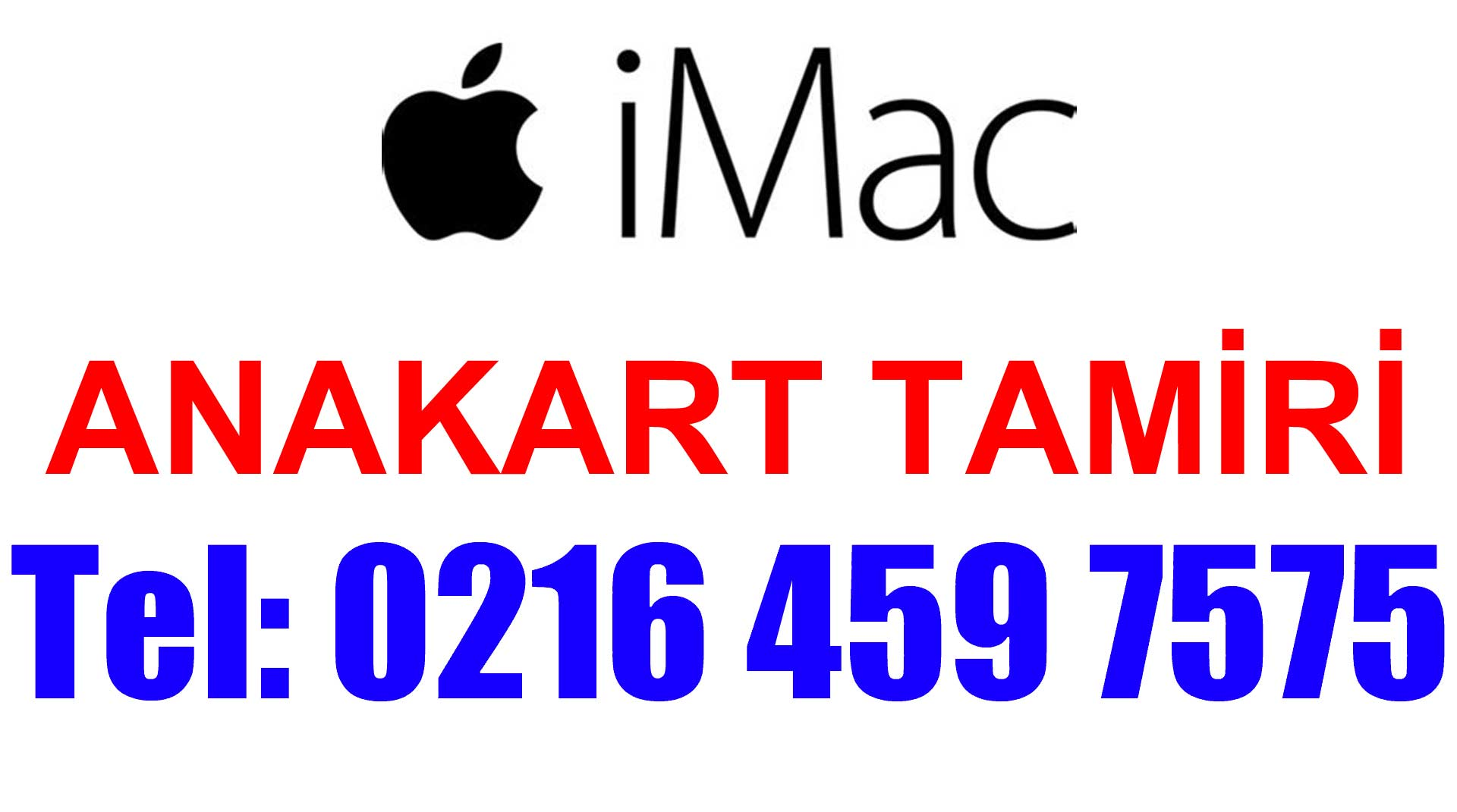 iMac Anakart Tamiri ve Değişimi