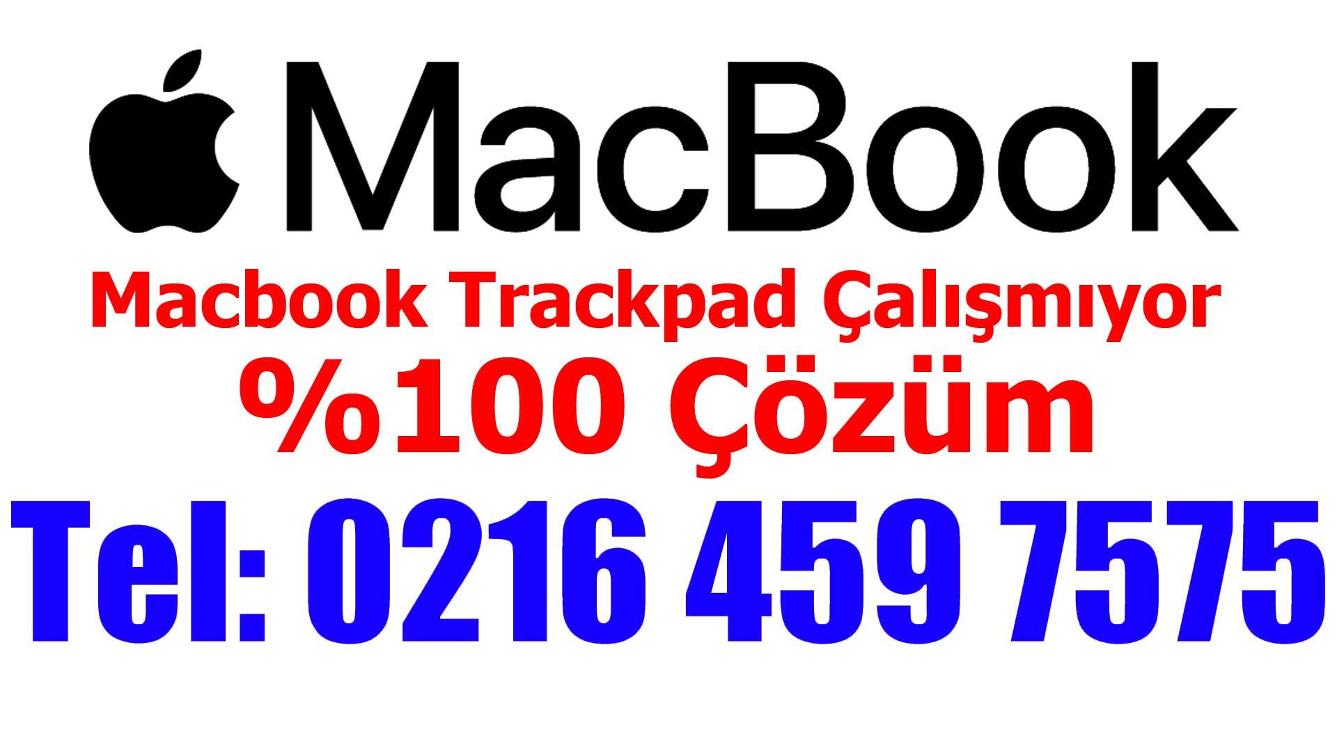 Macbook Touchpad Çalışmıyor