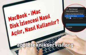 macbook imac mac disk izlencesi nasıl başlatılır nasıl kullanılır