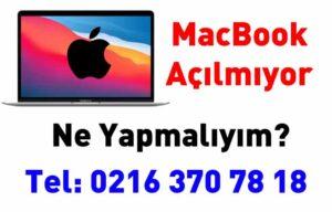 MacBook Açılmıyor